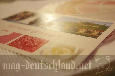 メディアマルクト(Media Markt)で注文したフォトプリントカード
