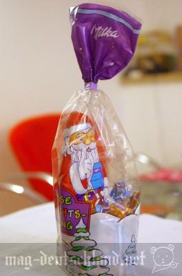 ミルカ(Milka)のクリスマスパッケージ