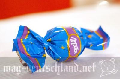 ミルカ(Milka)のキャンディー型チョコレート