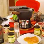 ドイツの年末料理フォンデュ