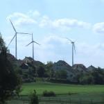 ドイツの風車(風力発電機)