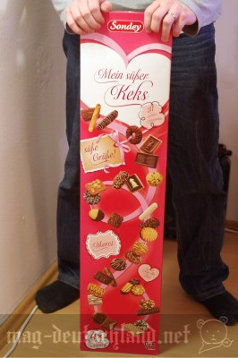 ドイツのバレンタインデー巨大クッキーの詰め合わせ