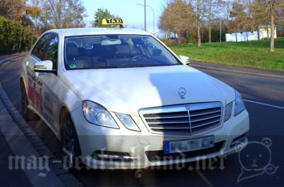 ドイツのベンツタクシー