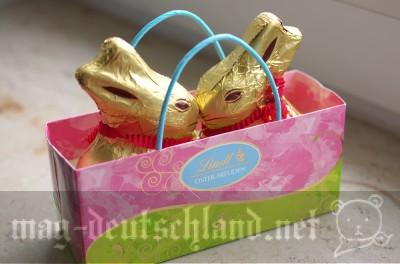 リンツのオスターハゼ、ウサギ型チョコレート