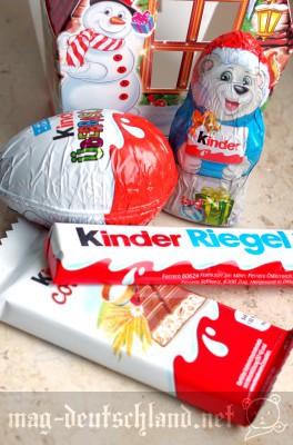 クリスマスチョコレート by Kinder。お家型です。