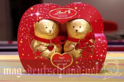 リンツ(Lindt)のクマ型クリスマス・チョコレート