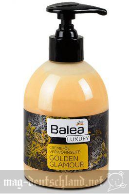 Baleaゴージャス版ハンドソープ「Balea Luxury Creme-Öl Verwöhnseife Golden Glamour」