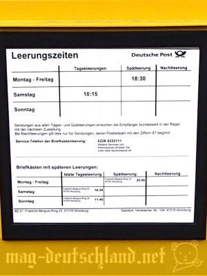 ドイツのポスト