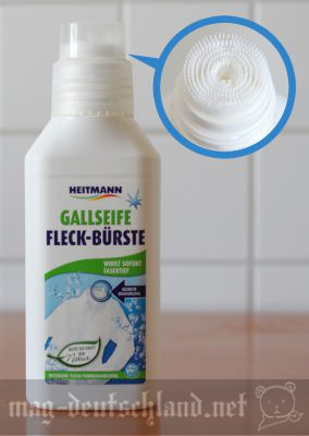 先端がブラシ状になっているシミ抜き「Fleck-Bürste」
