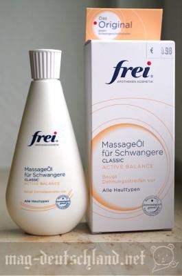 「frei MassageÖl für Schwanger」妊娠線予防マッサージオイル