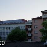 ドイツの夏の21:00