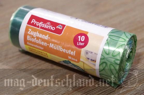 ドイツの生ゴミ用のビニール袋「BIO-MÜLLBEUTEL」