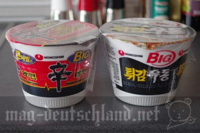 Nong Shimのカップ・ラーメン