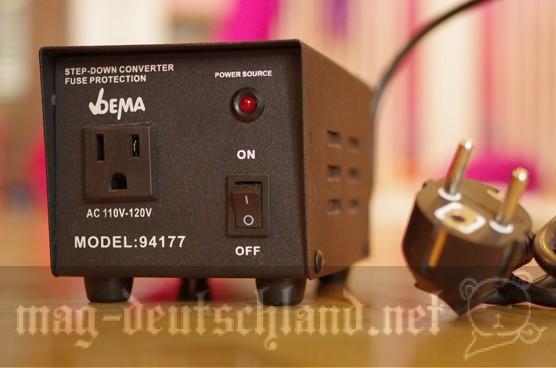 変圧器(ドイツで日本の電化製品を使う)
