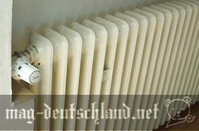 ドイツの温水ヒーター(温水暖房)
