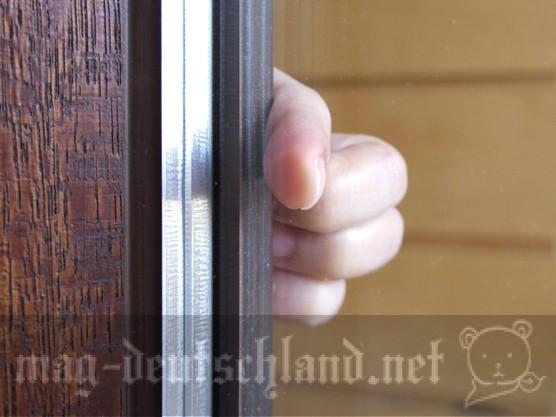 ドイツの窓は2重3重ガラス