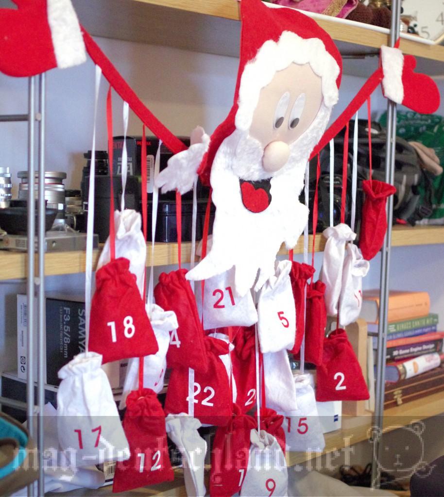 ドイツのお菓子入りアドベントカレンダー(Advent calendar)