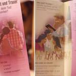ロシア人の宗教勧誘の方々が置いていったパンフレット