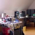 夫のラボ(研究室)