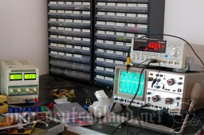 電流を計る機械