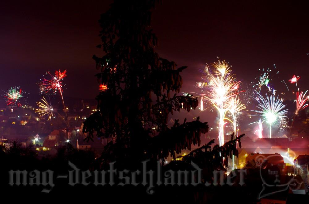 ドイツのカウントダウン(年明け)花火