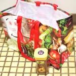 スーパーマーケットの有料袋