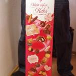 バレンタインデー仕様、巨大クッキーの詰め合わせ