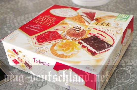 ドイツの冷凍ケーキ「Coppenrath & Wiese の Bunte Sahne Platte」