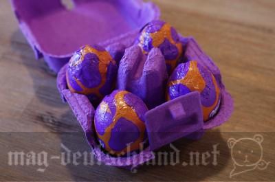 ミルカの卵型チョコレート