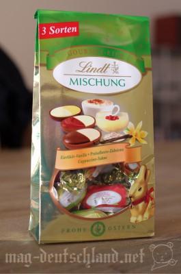リンツのイースタ―タマゴ型チョコレートMischung