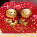 リンツのクマ型クリスマスチョコレート