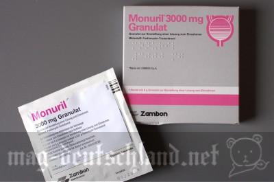 尿路感染症を抑える Monuril 3000 mg Granulat
