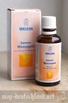 「WELEDA Damm-Massageöl」会陰切開予防マッサージオイル