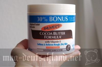 「PALMERS COCOA BUTTER FORMULA」妊娠線や傷跡にいいココアバター