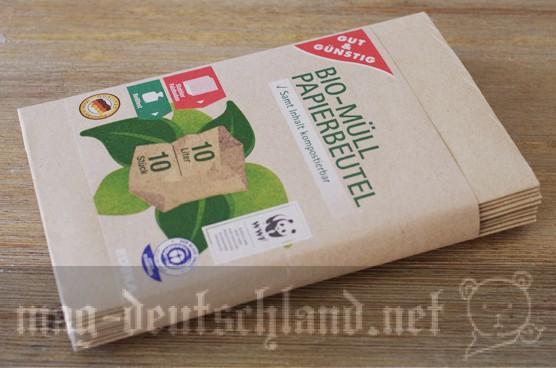ドイツの生ゴミ用の紙袋「BIO-MÜLLBEUTEL」