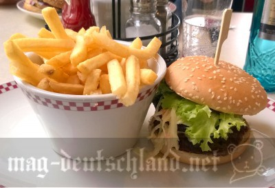 Kullman's Grill & Dinerのハンバーガー