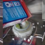 ドイツの食洗機に塩を補充する